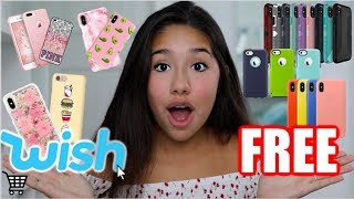Buying Free iPhone Cases From Wish!!