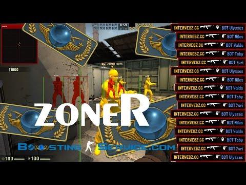 zoneR boosting to Global - Vertigo AFK Bot Boost Technique - 7k+ Wins
