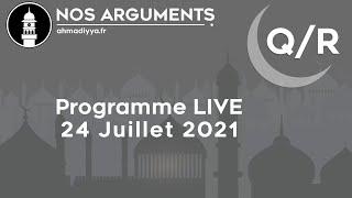 Nos Arguments LIVE - 24 Juillet 2021 à 19h30