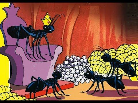 قصة النملة الصغيرة وقرية النمل - قصص قبل النوم للأطفال