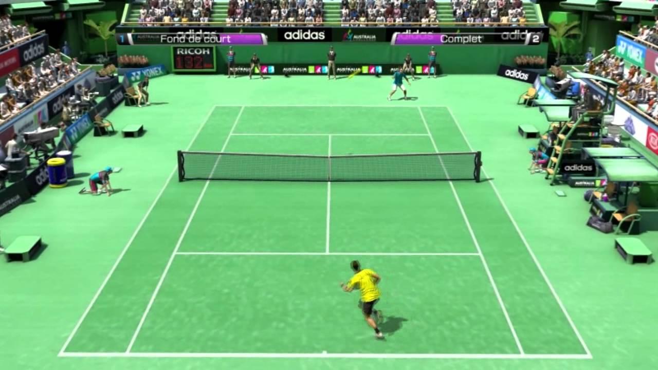virtua tennis 4 pc gratuit complet