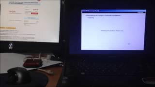 Toshiba laptop reload restore factory defaults toshiba satellite fix virus  core i3
