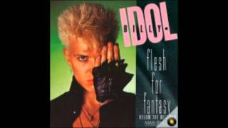 Billy-Idol-Flesh-For-Fantasy with lyrics