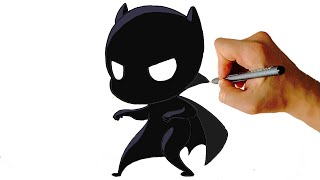 panther easy chibi draw step facedrawer