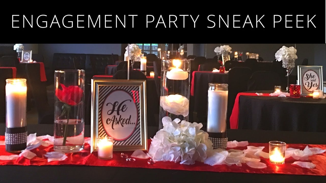 Beautiful Christmas Engagement Party Ideas Part - 4: Engagement Party Sneak Peek | Elegant Party Ideas