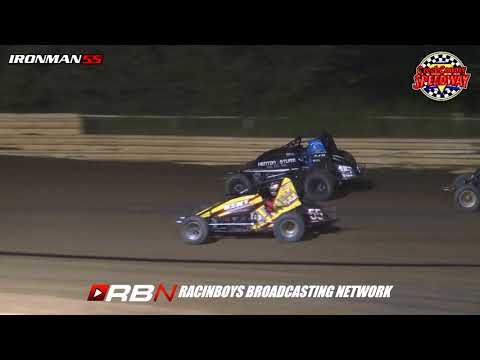 IronMan55 NW Sprints at Creek County Speedway 9 9 17