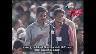 Dr Zakir Naik in Dubai-A hindu Girl accepted Islam 28 Aug 2009-part-3