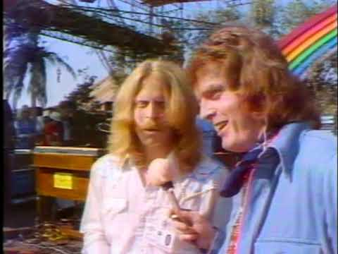 Deep Purple's California Jam 1974 - backstage interviews with the great people behind the scenes.
