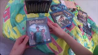 обзор фильмов дисков DVD и Blu Ray (3 издания) Гарри Поттер все части (2001-2011).