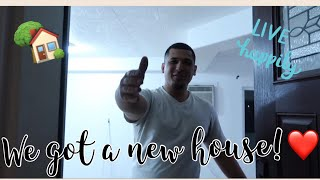 Gambar cover SURPRISE!!! We Got Our First House!❤️ (Empty House Tour)