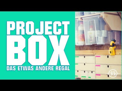 PROJEKT BOX - Regal mal anders  | project box - shelf a bit different.