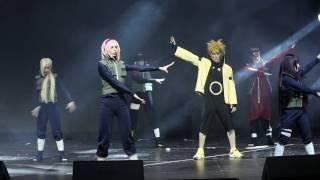 Врн2016 44.Naruto Shippuuden (танец)