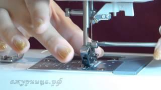 Подготовка машинки к вышиванию