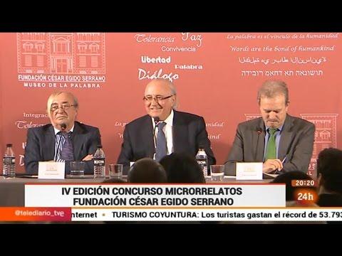 Fundación César Egido Serrano - Canal 24 Horas Rueda de prensa IV Edición