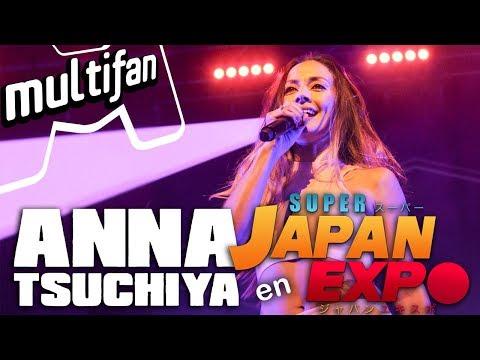 [Concierto] Anna Tsuchiya en vivo en Super Japan Expo 2017 | 7 de octubre Movistar Arena