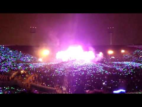 Paradise Coldplay Chile 2016