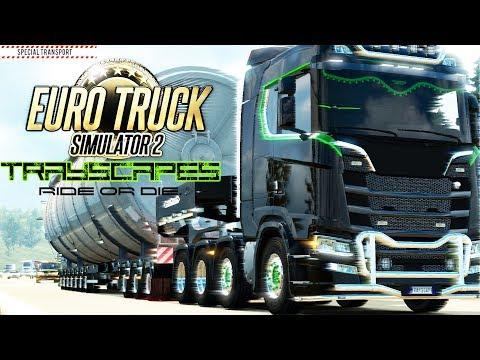 Special Transport /Heavy Haul/ New Scania/V8/Custom/Euro Truck Simulator 2