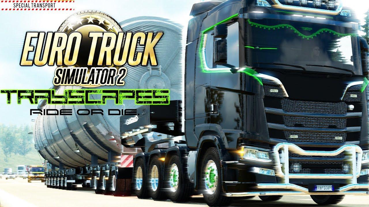 special transport heavy haul new scania v8 custom euro. Black Bedroom Furniture Sets. Home Design Ideas