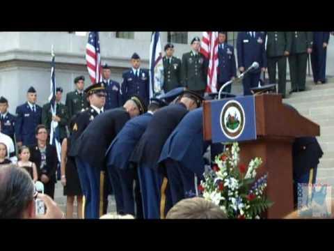 Sen. Robert C. Byrd Returns Home to West Virginia