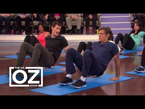 Joel Harper and Dr. Oz Do a 5-Minute Fat-Burning Workout