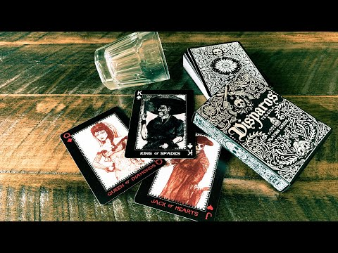 Disparos Tequila (Black) Playing Cards - Ellusionist - Deck Review!