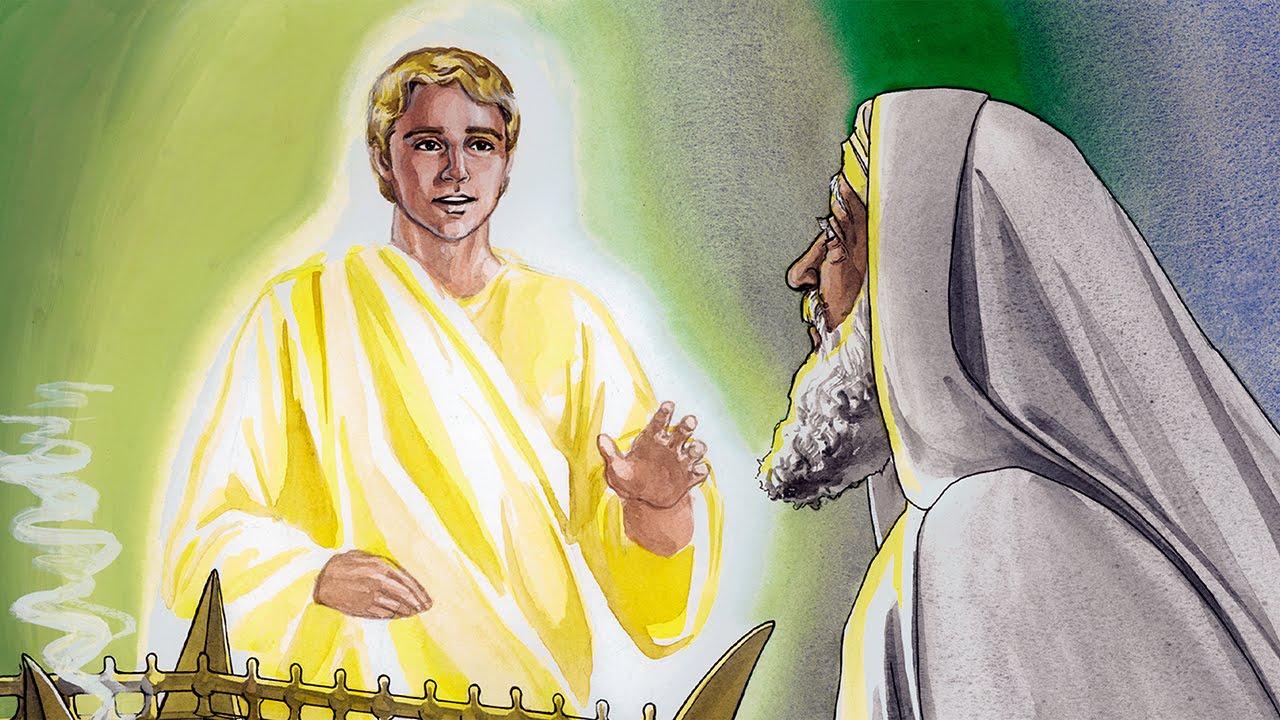 002 - Un ángel anuncia el nacimiento de Juan el Bautista - YouTube