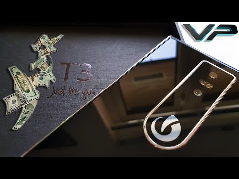 Unboxing a $1000 Phone: Lumigon T3