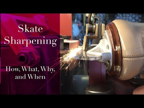 Figure Skate Sharpening Guide -  How, Why And When To Sharpen Your Figure Skates