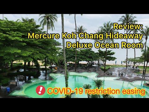 Review Mercure Koh Chang Hideaway Deluxe Room Ocean View   Easing Covid 19  