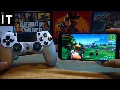 2 Ways To Play Fortnite With PS4 Controller On Any Android | No Root |2019