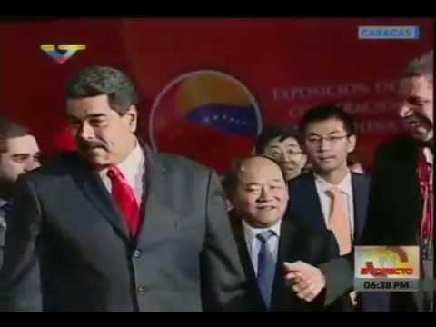 Plenaria de la Comisión China-Venezuela, evento completo en cadena, firma de acuerdos