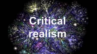 Alex Clark-Critical realism and realist evaluation: An overview for everyone