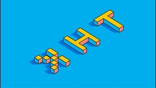 Isometric Text Effect | Illustrator Tutorial | Think