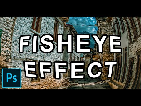 Photoshop Tutorial | Fisheye Lens Effect