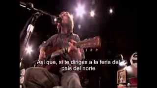 Eddie Vedder - water on the road - Girl from the North Country - Subtitulos