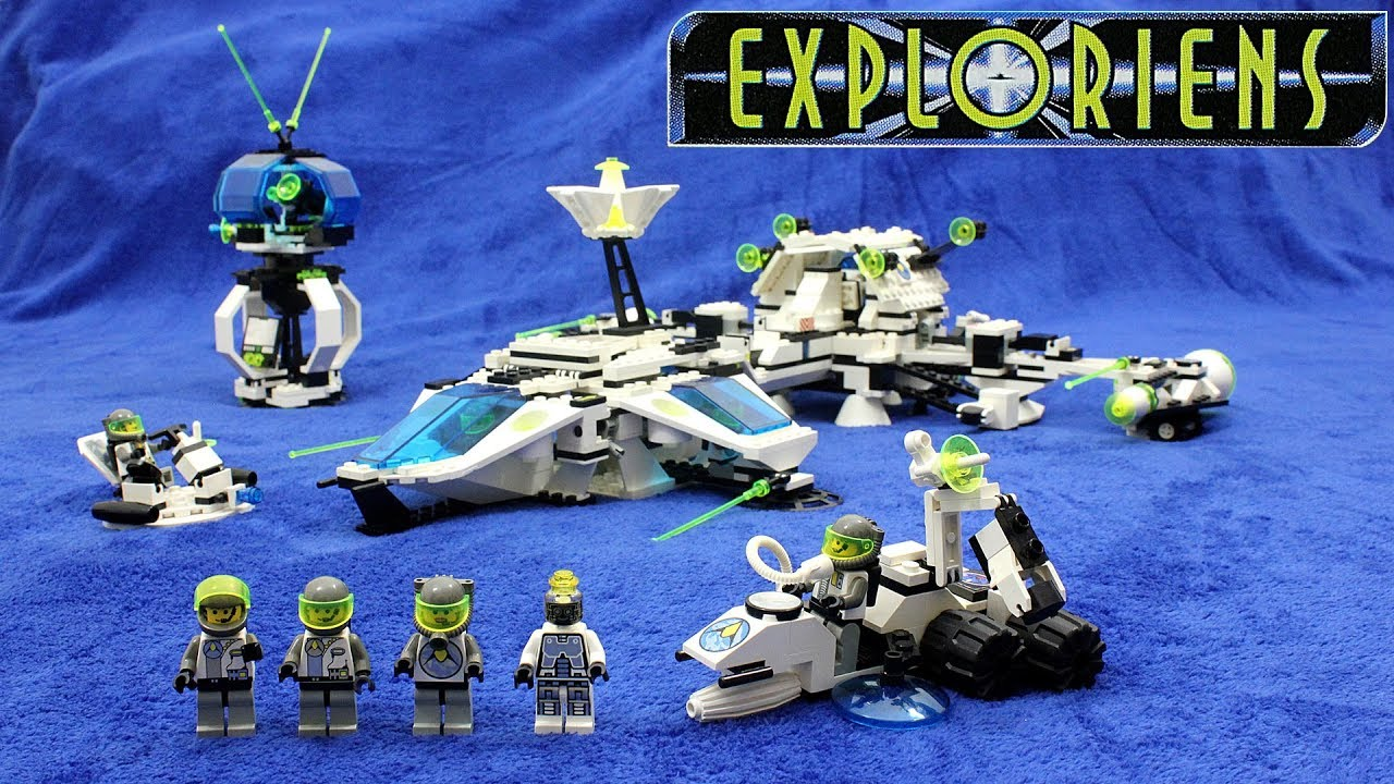 6982-1: Explorien Starship | Brickset: LEGO set guide and ...