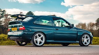 THE 566BHP FORD ESCORT COSWORTH **JUST WOW**