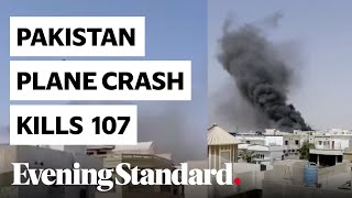 Pakistan Plane Crash: Airbus Down Over Karachi Kills All 107 On Board