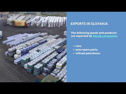 Imports and Exports in Slovakia