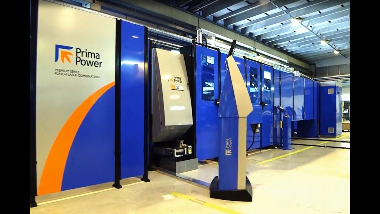 Prima Power LPe6f + LSR - Electric & Fiber Laser Combi
