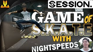 SESSION | Game Of S.K.A.T.E with NIGHTSPEEDS