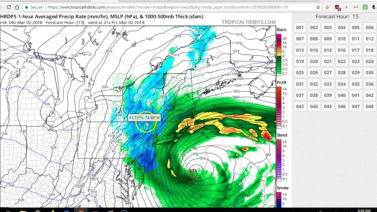 NYC Weather: Nor'easter arrives with heavy snow, strong winds ...