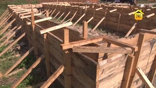 Мелкозаглубленный ленточный фундамент своими руками: работа по его сооружению (видео)
