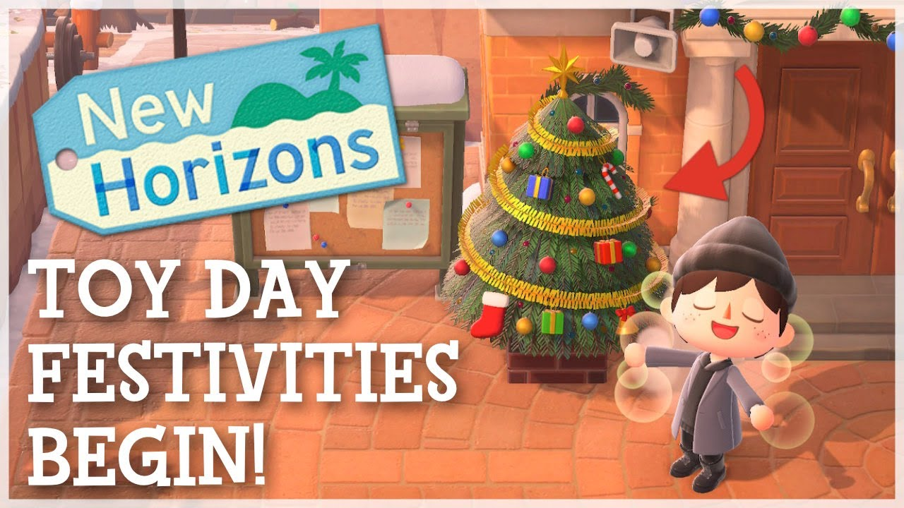 Animal Crossing New Horizons - Toy Day Festivities BEGIN! (New Items & Changes)
