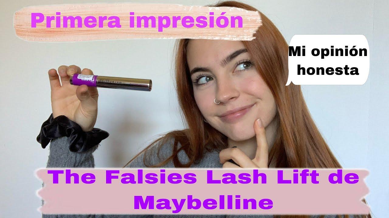 Primera impresión: The Falsies Lash Lift de Maybelline + prueba de uso