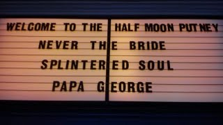 Splintered Soul, live at 'The Half Moon' in Putney, London (Acoustic)