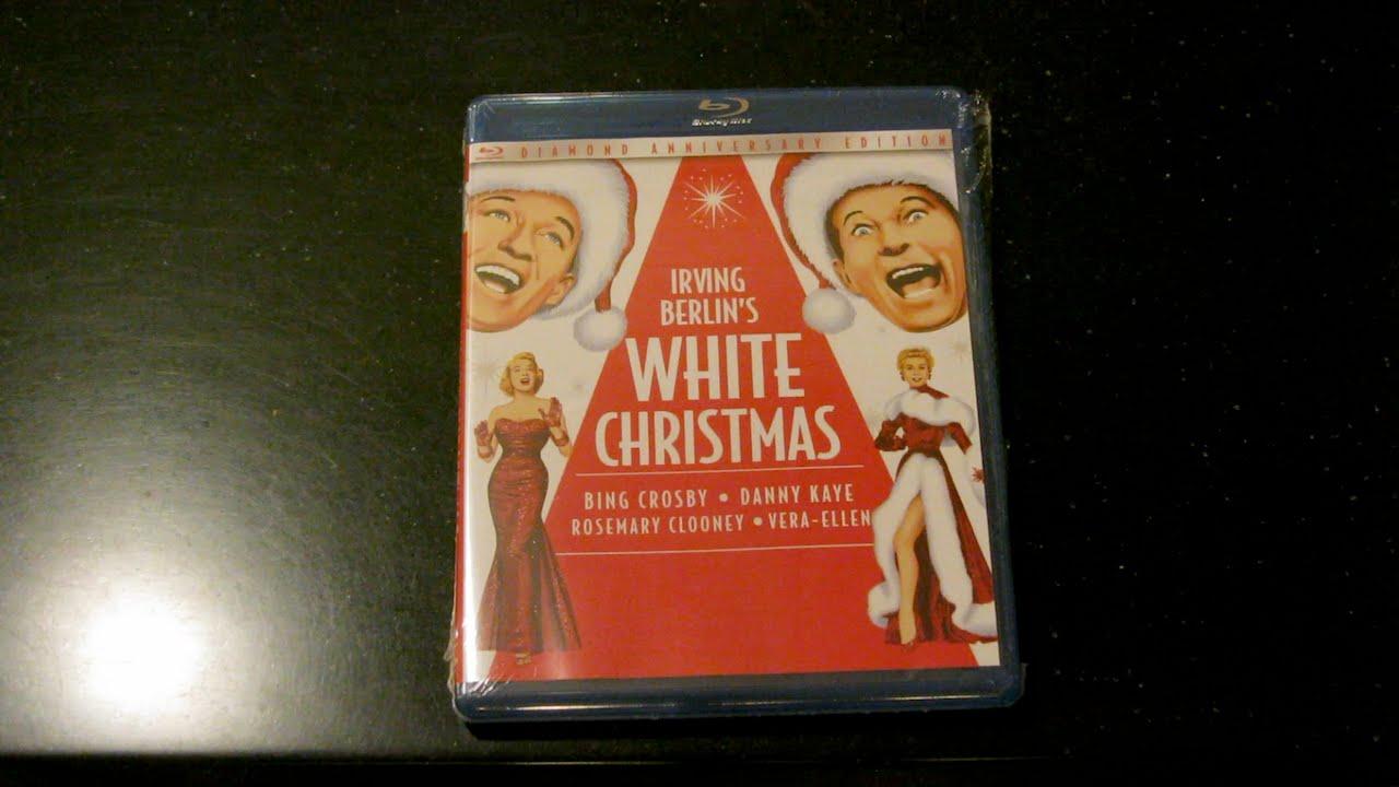 White Christmas Blu-ray 4 Disc Bonus CD Unboxing - YouTube