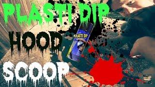 How To Plasti Dip Your Hood Scoop - Subaru WRX
