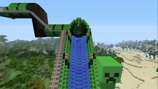 Minecraft Giant WaterSlide
