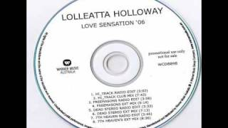 Loleatta Holloway - Love Sensation 2006 (Freemasons Club Mix)